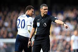 19 March 2017 - Premier League - Tottenham Hotspur v Southampton - Referee Andre Marriner - Photo: Marc Atkins / Offside.
