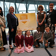 "City Hall, London, Uk, 29th June 2017. Yeading Infant and Nursery School, Bishop Winnington Church of England School Hillingdon ""Sliver and Gold Awards"" of the City Hall awards at the Health and education experts celebrate London's healthiest schools."