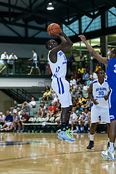 23 June 2012: Deontre Brown.  Illinois Basketball Coaches Association (IBCA) All Star game at Shirk Center, Illinois Wesleyan, Bloomington, IL