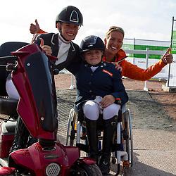 Rixt van der Horst, (NED), Uniek - Freestyle Grade II Para Dressage - Alltech FEI World Equestrian Games™ 2014 - Normandy, France.<br /> © Hippo Foto Team - Leanjo de Koster<br /> 25/06/14