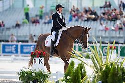 Tomasz Zdankowski, (POL), Rimel - Team Competition Grade III Para Dressage - Alltech FEI World Equestrian Games™ 2014 - Normandy, France.<br /> © Hippo Foto Team - Jon Stroud <br /> 25/06/14