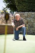 Male Senior Golfer
