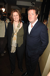 SARAH BROWN and PIERS MORGAN at a party to celebrate the publication of Piers Morgan's book 'Don't You Know Who I Am?' held at Paper, 68 Regent Street, London W1 on 18th April 2007.<br /><br />NON EXCLUSIVE - WORLD RIGHTS