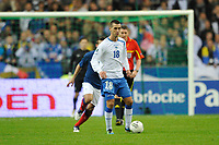 FOOTBALL - UEFA EURO 2012 - QUALIFYING - GROUP D - FRANCE v BOSNIA - 11/10/2011 - PHOTO GUY JEFFROY / DPPI - HARIS MEDUNJANIN (BOS)