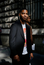 Street style, Kid Cudi arriving at Dior Spring-Summer 2019 menswear show held at Garde Republicaine, in Paris, France, on June 23rd, 2018. Photo by Marie-Paola Bertrand-Hillion/ABACAPRESS.COM