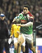 Reading, GREAT BRITAIN, Juan LEGUIZAMON, during the third round Heineken Cup game, London Irish vs Ulster Rugby, at the Madejski Stadium, Reading ENGLAND, Sat 09.12.2006. [Photo Peter Spurrier/Intersport Images]