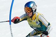 Womans Slalom, 2007 U.S. Alpine Championships at Alyeska, Resort, Alaska.