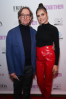 Alex Cutler and Elena Ghenoiu at Los Angeles Premiere Of 'Untogether' held at Frida Restaurant on February 08, 2019 in Sherman Oaks, California, United States (Photo by JC Olivera)