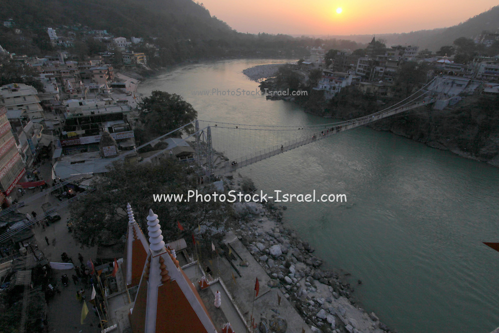 India, Uttarakhand, Rishikesh, The Ganges River