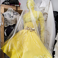Nederland, Amsterdam, 19 januari 2017.<br />Marlou Breuls uit Elsloo - woonachtig in Amsterdam - is ontwerpster en aanstormend talent. Ze toont haar mode binnenkort tijdens de Amsterdam Fashion Week en is inmiddels ook queen of the atelier van opkomend label Maison de Faux.<br /><br /><br /><br />Foto: Jean-Pierre Jans