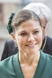 October 3, 2017 - Uppsala - Crown Princess Victoria..Attendance at the opening of the Gereral Synod - Kyrkomötets öppnande - Uppsala, Sweden 2017-10-03..(c) Ola Axman / IBL Bildbyrà (Credit Image: © Ola Axman/IBL via ZUMA Press)