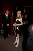 Poppy Delavigne, Terry O'Neill to celebrate his book, 'Celebrity' at Dunhill,  28 October 2003. © Copyright Photograph by Dafydd Jones 66 Stockwell Park Rd. London SW9 0DA Tel 020 7733 0108 www.dafjones.com