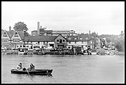 Henley-On-Thames, Berkshire, UK., Wednesday, Wednesday, 26th May 2021, General view Henley Town,  the Old Brewery, towers above the other buildings, River Thames, Henley Reach, [Mandatory Credit © Peter Spurrier/Intersport Images],