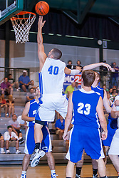 25 June 2011: Jakob Junis at the 2011 IBCA (Illinois Basketball Coaches Association) boys all star games.