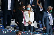 French Minister of Sports Roxana Maracineanu, President of French Football League (LFP) Nathalie Boy de la Tour attend the French Cup final football match between Paris Saint-Germain (PSG) and AS Saint-Etienne (ASSE) on Friday 24, 2020 at the Stade de France in Saint-Denis, near Paris, France - Photo Juan Soliz / ProSportsImages / DPPI
