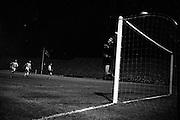 24/10/1962<br /> 10/24/1962<br /> 24 October 1962<br /> Soccer: Shamrock Rovers v Botev Plovdiv (Bulgaria), European Cup Winner's 2nd Round at Dalymount Park, Dublin. Keeper Georgi Naydenov saves in dramatic style.