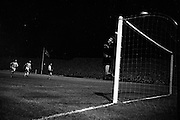 24/10/1962<br /> 10/24/1962<br /> 24 October 1962<br /> Soccer: Shamrock Rovers v Botev Plovdiv (Bulgaria), European Cup Winner's 2nd Round at Dalymount Park, Dublin. Keeper Georgi Naydenov saves in dramatic style.
