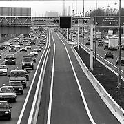 NLD/Muiden/19931021 - Carpoolstrook A1 Muiden
