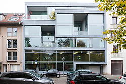 Luxury apartment and office building on Auguststrasse in Mitte Berlin Germany