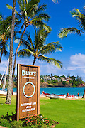 Dukes Restaurant at the Kauai Marriott Resort, Island of Kauai, Hawaii