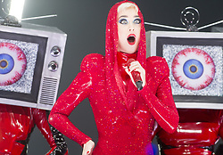 September 19, 2017 - Montreal, Canada - KATY PERRY performs on the first date of her world tour ''Witness: The Tour' in Montreal. (Credit Image: © Ryan Remiorz/The Canadian Press via ZUMA Press)