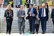 Pictured is the Rt Hon Gavin Williamson, Secretary of State for Education who made a visit to Dudley College Advance and Advance II campuses today 12th September 2019.With Opportunities to meet apprentices and full-time 16-19 year old learners and Demonstration of skills for the construction (building services and engineering T level pathway). He was joined by Neil Thomas – Principal, Dudley College of Technology and Diana Martin – Vice Principal, Dudley College of Technology along with Julie Robson - Further Educations and Skills Productivity Group West Midlands, working with the West Midlands Combined Authority<br /> and Shane Chowen - West Midlands Association of Colleges. and local MP's Ian Austin MP, Dudley North<br /> Mike Wood MP, Dudley South Picture by Shaun Fellows / Shine Pix Ltd