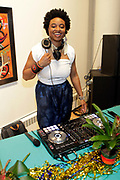 May 14, 2014- Harlem, New York-United States: DJ Likwuid attends the Harlem School of the Arts Jump and Wave Benefit held at the Harlem School of the Arts- The Herb Alpert Center on May 18, 2017 in Harlem, New Yo  rk City. Harlem School of the Arts enriches the lives of young people and their families through world-class training in and exposure to the arts across multiple disciplines in an environment that emphasizes rigorous training, stimulates creativity, builds self-confidence, and adds a dimension of beauty to their lives.(Photo by Terrence Jennings/terrencejennings.com)