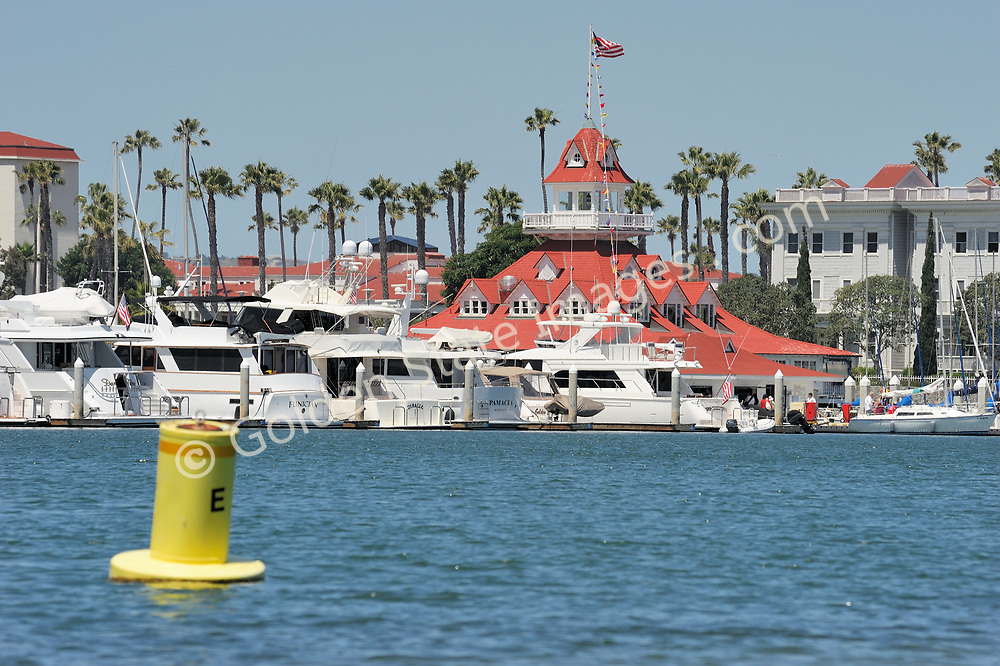 The Boathouse was built in 1887, one year prior to construction beginning on the Hotel Del Coronado.<br /> <br /> The Boathouse displays the same design style as the Hotel Del, both were designed by Reid Brother architects.