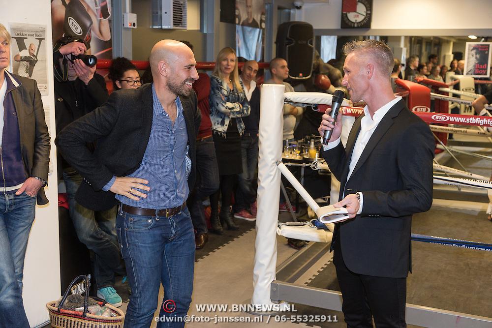 """NLD/Amsterdam/20131128 - Presentie boek """"Bad Boy"""" van Abdelkader Benali, met Alex Boogers"""