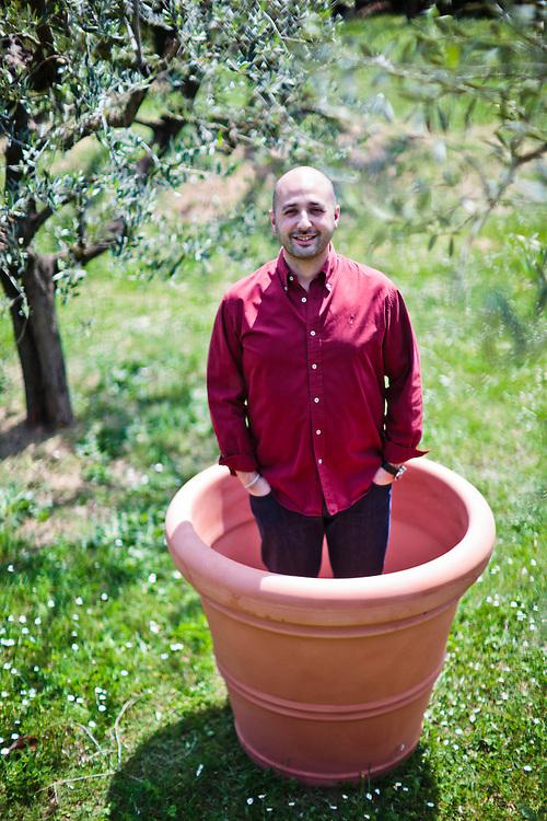 02 MAY 2011 - Altopascio (LU) - Davide Dal Poggetto, direttore commerciale e operativo di BAMA