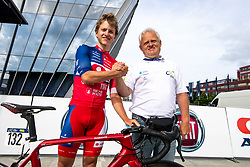Gal GLIVAR of ADRIA MOBIL and Srecko Glivar during the 5th Stage of 27th Tour of Slovenia 2021 cycling race between Ljubljana and Novo mesto (175,3 km), on June 13, 2021 in Slovenia. Photo by Matic Klansek Velej / Sportida