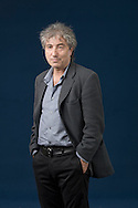 British child psychotherapist, literary critic and essayist Adam Phillips, pictured at the Edinburgh International Book Festival where he talked about his latest book. The three-week event is the world's biggest literary festival and is held during the annual Edinburgh Festival. The 2010 event featured talks and presentations by more than 500 authors from around the world.