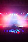 DJ im Roxy Musik Club.