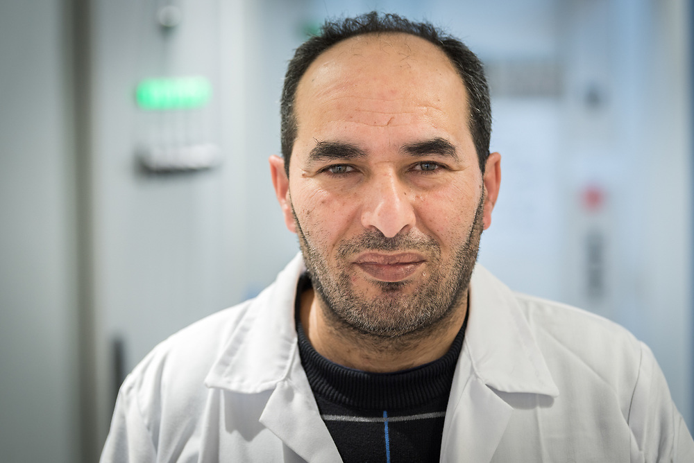 24 February 2020, Jerusalem: Dr Fadel Rawashdeh serves as Radiation Oncologist at the Augusta Victoria Hospital.