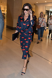 Fashion designer wife of David Beckham, Victoria Beckham, turns up to her store in the Landmark Building Hong Kong. Victoria joins local Hong Kong fashion commentator, Divia Harilela, for a live Facebook interview timed nicely for the release of her new seasons wear. 14 May 2017 Pictured: Victoria Beckham. Photo credit: HKPhotonews / MEGA TheMegaAgency.com +1 888 505 6342