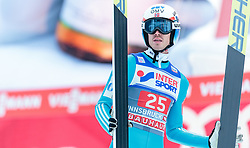 03.01.2016, Bergisel Schanze, Innsbruck, AUT, FIS Weltcup Ski Sprung, Vierschanzentournee, Bewerb, im Bild Andreas Stjernen (NOR) // Andreas Stjernen of Norway reacts after his Competition Jump of Four Hills Tournament of FIS Ski Jumping World Cup at the Bergisel Schanze, Innsbruck, Austria on 2016/01/03. EXPA Pictures © 2016, PhotoCredit: EXPA/ JFK