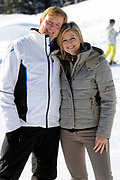 Fotosessie met de koninklijke familie in Lech /// Photoshoot with the Dutch royal family in Lech .<br /> <br /> Op de foto / On the photo: Prinses Maxima en Prins Willem Alexander /////  Princess Maxima and Crown Prince Willem Alexander