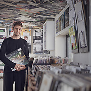 Jack at Container Records