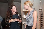KATE GRAND; JACQUETTA WHEELER, Vogue: Fashion's Night Out: Armani. Bond st.  London. 8 September 2010.  -DO NOT ARCHIVE-© Copyright Photograph by Dafydd Jones. 248 Clapham Rd. London SW9 0PZ. Tel 0207 820 0771. www.dafjones.com.