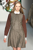 Daria Strokous walks the runway during the United Bamboo Fall 2009 Collection