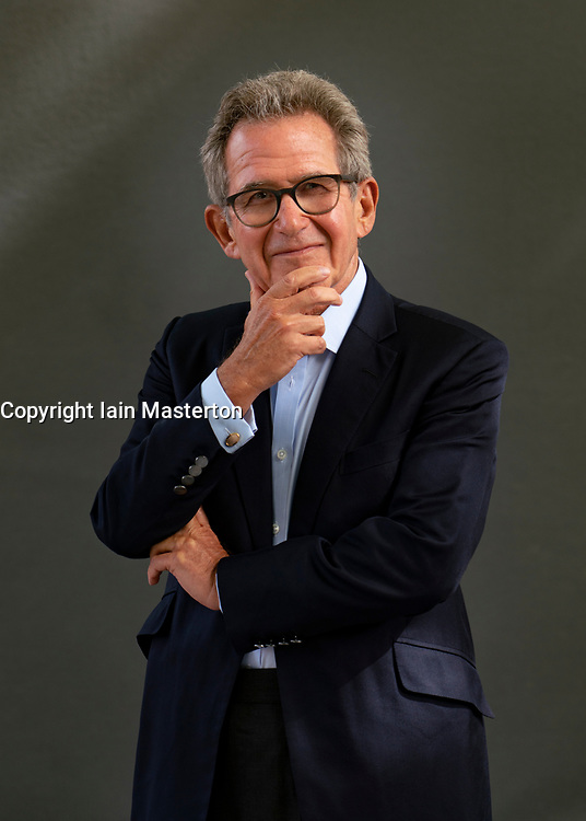 Edinburgh, Scotland, UK. 23 August 2019. Former BP CEO John Browne's book Make, Think, Imagine argues that restraint to technological advancements would have negative consequences to the world. Iain Masterton/Alamy Live News.