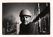 Sergio, un ouvrier sur un chantier à Savièse en 2018<br /> Projet sur la construction avec l'AVE (association Valaisanne des Entrepreneurs <br /> Suisse, Valais<br /> Project terre rare #photoargentique #noiretblanc #noiretblancphotographie #blackandwhite #blackandwhitephotography #photoargentique #photographieargentique #leica #leicamp #ilford #labophoto #terrerare #terresrares #terrerareprojet @omaire. <br /> (STUDIO_54/ OLIVIER MAIRE)