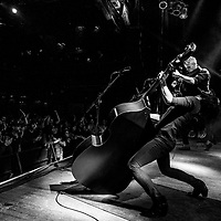CLEVELAND - JAN 14: The Devil Makes Three performs at The House of Blues on Sunday, Jan. 14, 2018 in Cleveland.
