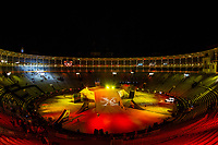 Las Ventas bullring during qualifying Red Bull X-Fighters 2016 at Madrid. 22,06,2016. (ALTERPHOTOS/Rodrigo Jimenez)