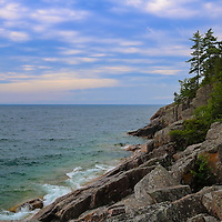 """""""Agawa Bay Rocky Shore""""<br /> <br /> A truly gorgeous scene on Lake Superior in Ontario, Canada on Agawa Bay!"""