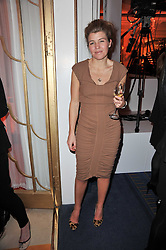 AMBER AIKENS at the 38th Veuve Clicquot Business Woman Award held at Claridge's, Brook Street, London W1 on 28th March 2011.