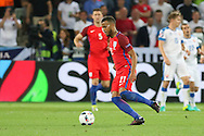 England Defender Ryan Bertrand during the Euro 2016 Group B match between Slovakia and England at Stade Geoffroy Guichard, Saint-Etienne, France on 20 June 2016. Photo by Phil Duncan.