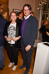 Harry & Laura Lopes at Mark Shand's Adventures and His Cabinet Of Curiosities VIP private view, 32 Portland Place, London, England. 20 February 2018.