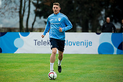 Rajko Rotman during practice session of Slovenian Football Team before Euro 2016 Qualifying match against Ukraine, on November 10, 2015 in Football centre Brdo pri Kranju, Slovenia. Photo by Vid Ponikvar / Sportida