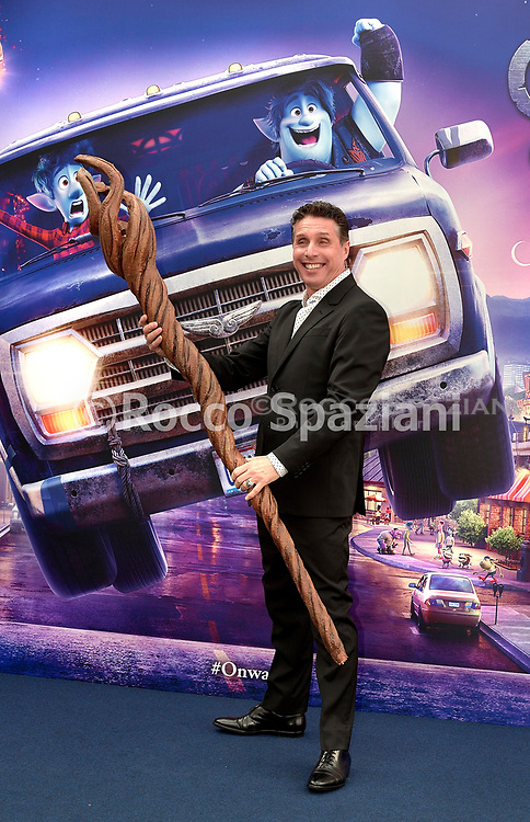 Raul Cremona during photocall for the presentation of the Disney cartoon Pixar Onward. Rome (Italy), February 25th, 2020